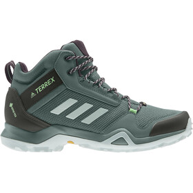 adidas TERREX AX3 Mid Gore-Tex Wandelschoenen Dames, noble purple/green tint/glory mint